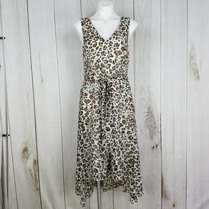 Emma and Michele | Leopard Print Flowy Dress - 8